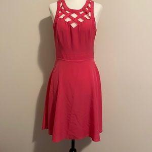 Guess Pink Crisscross Dress Size 4